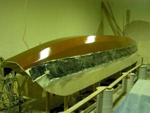 copper 2nd coat outboard stern