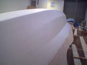 highbuild 3rd coat inboard