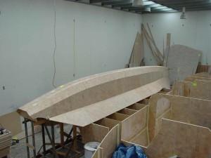 planked sb hull