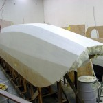 SB HB second coat outboard stern