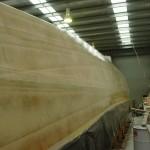 inboard resin coat