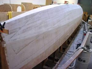 sb highbuild sanded outboard bow
