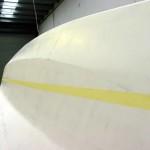 sb waterline masked inboard bow