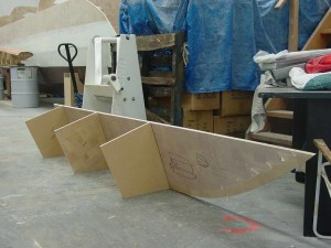 dingy sb hull with bh's