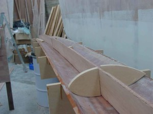 dry fit of ply 2
