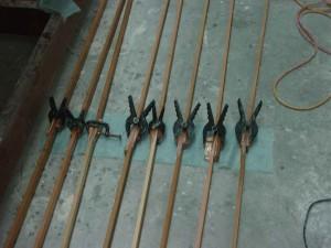 planks glued