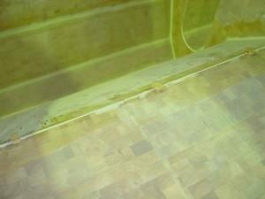 hull deck glued