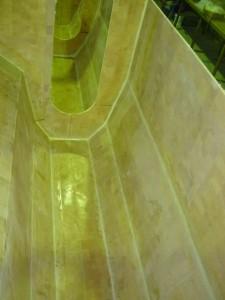 sb hull floor glassed