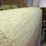 planking sanded