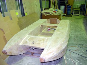 dingy almost ready to paint