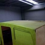nine lives cabin roof