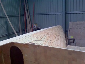port bow planking done