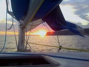 sunset broken bay