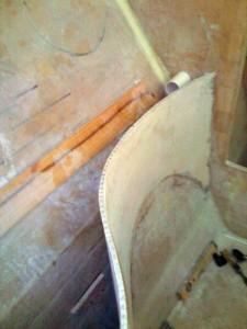 ensuite thru bulkhead pipes 1