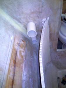 ensuite thru bulkhead pipes