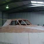 Nine Lives cabin windows cut
