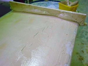 dagger mold as screed