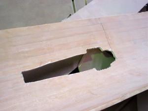 port daggercase deck cut out