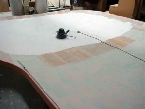saloon roof light sand
