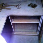 robe cabinet rough in