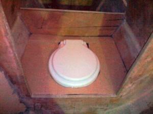 ensuite toilet cardboard template 1