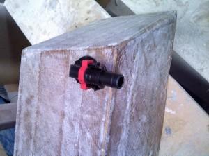 qwik lok cistern outlet