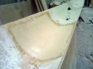 port side deck bathroom bog