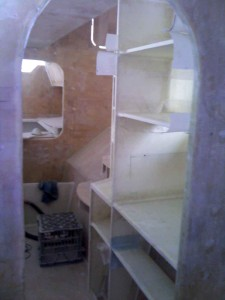 sb under seat cupboard shelves in 1