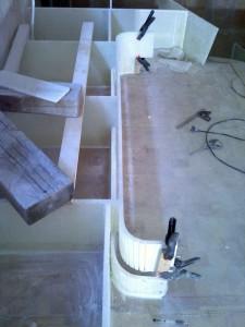 lounge front panel kickboard gap