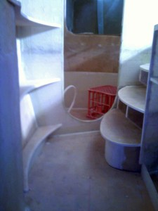 curved steps and curved shelves 1