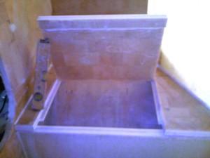 aft bedroom inboard hull cabinet lid