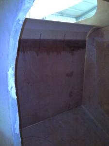 bathroom side wall