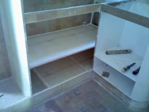 galley middle shelf glassed in