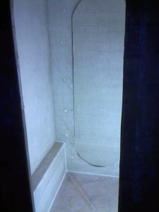 shower side wall dry fit