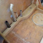 bathroom vanity kickboard dry fit