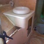 bathroom vanity front glassed in 1