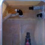 bathroom vanity inside