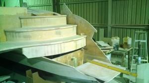 bottom step mock up