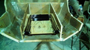 boarding ladder base dry fit 1