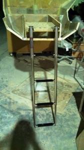 boarding ladder base dry fit 2