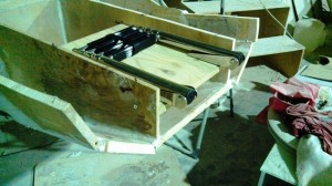 boarding ladder base dry fit