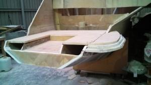 bottom step extension mock up 1