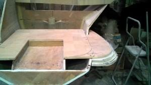 bottom step extension mock up