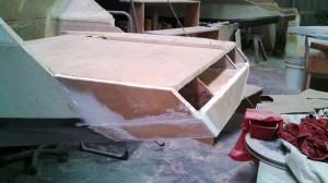 port transom almost closed