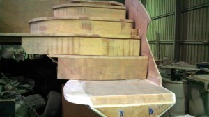 starboard steps dry fit for height