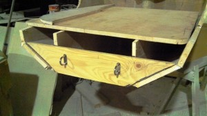 starboard transom plate ply with u bolts