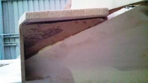 under step filler piece template