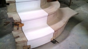 port steps with door before flange removed