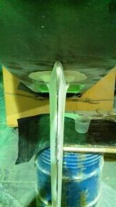 port rudder faired trailing edge