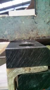 transom bearing flush gap